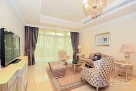 شقة في كمبينسكي نخلة جميرا ذا كريسنت نخلة جميرا 2 غرف 220000 درهم - 5421464