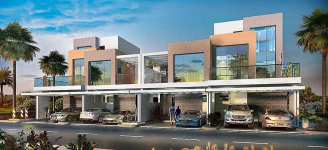 4 Bedroom Townhouse for Sale in DAMAC Hills (Akoya by DAMAC), Dubai - Flexible Payments   0% Commission   Post Handover Payment Plan