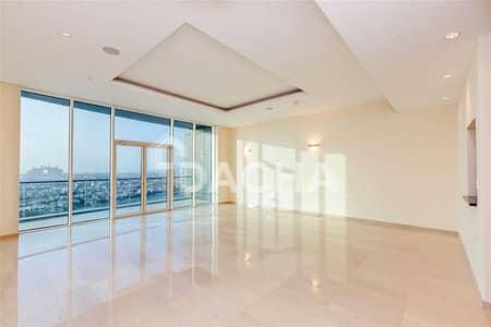 فلیٹ 3 غرف نوم للايجار في نخلة جميرا، دبي - Must see / High floor / Full Atlantis view