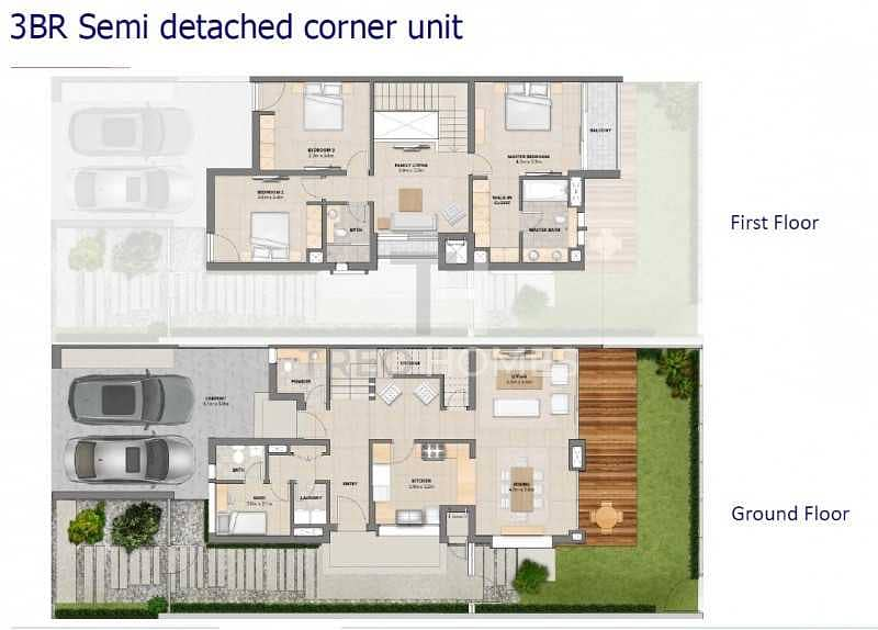 15 3 bedroom semi detached | Prime location