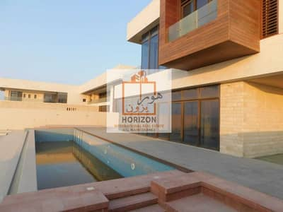 7 Bedroom Villa for Sale in Saadiyat Island, Abu Dhabi - Villa directly on the sea | Beautiful view