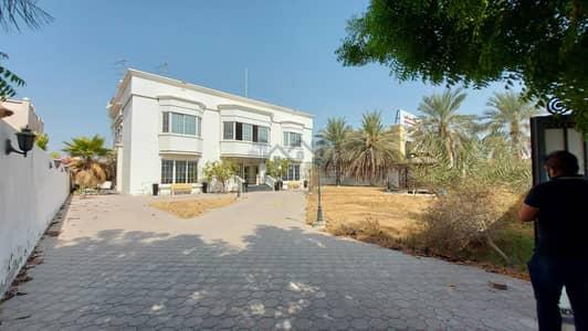 6 Bedroom Villa for Rent in Mirdif, Dubai - 6 BR FULL INDEPENDENT VILLA WITH 2 SEPARATE ENTRANCES, REF# VL 433 (Plot size 17,000 Sqft Build up area 11,00
