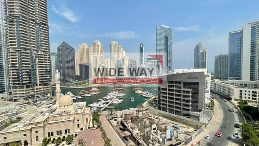 شقة 1 غرفة نوم للايجار في دبي مارينا، دبي - Marina View   Furnished 1BR   With Balcony