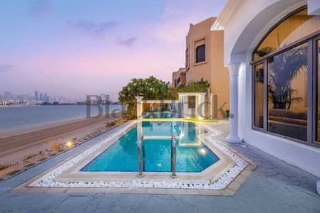 فیلا 5 غرف نوم للايجار في نخلة جميرا، دبي - فیلا في جاردن هومز سعفة M جاردن هومز نخلة جميرا نخلة جميرا 5 غرف 1900000 درهم - 5417673