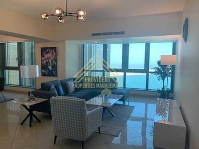 فلیٹ 3 غرف نوم للايجار في المركزية، أبوظبي - شقة في Capital Plaza Tower A كابيتال بلازا برج A كابيتال بلازاالمركزية 3 غرف 185000 درهم - 5423365