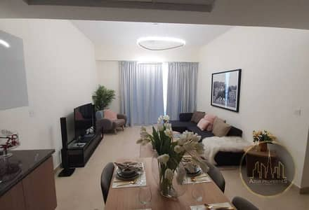 فلیٹ 2 غرفة نوم للبيع في الفرجان، دبي - BRAND NEW  APARTMENT VERY SPACIOUS WITH GOOD VIEW