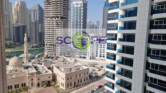 شقة 1 غرفة نوم للايجار في دبي مارينا، دبي - Fully Furnished Good Deal Chiller Free  1 Bhk in Manchester Tower