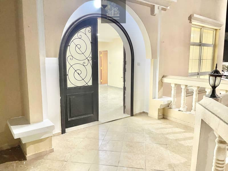 Private entrance brand new 1 bedroom hall in al Nahyan