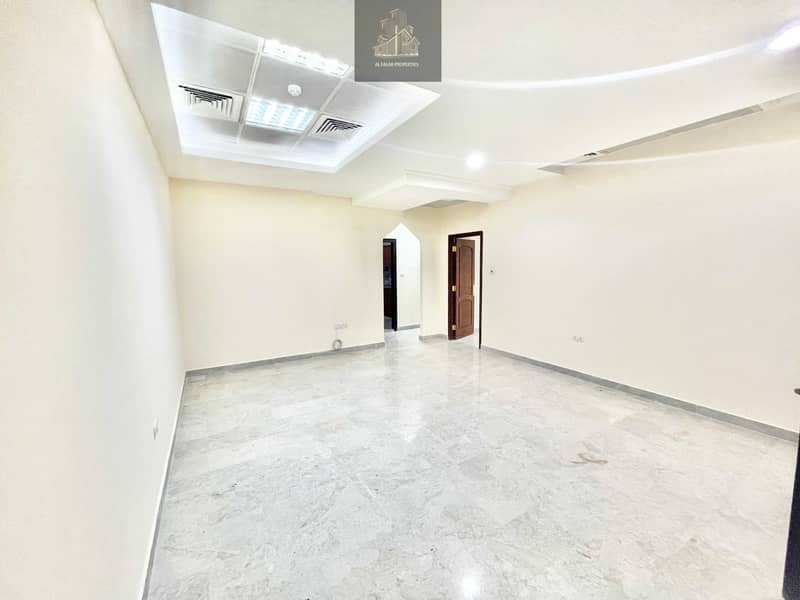 2 Private entrance brand new 1 bedroom hall in al Nahyan
