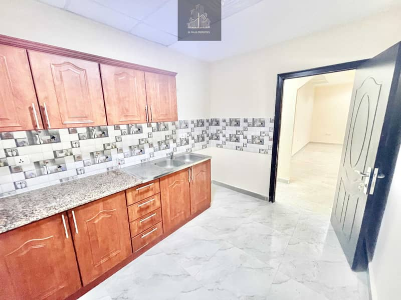 13 Private entrance brand new 1 bedroom hall in al Nahyan
