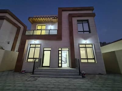 3 Bedroom Villa for Rent in Al Zahya, Ajman - For rent a new villa, the first inhabitant of central air conditioning, in Ajman, Al Zahia