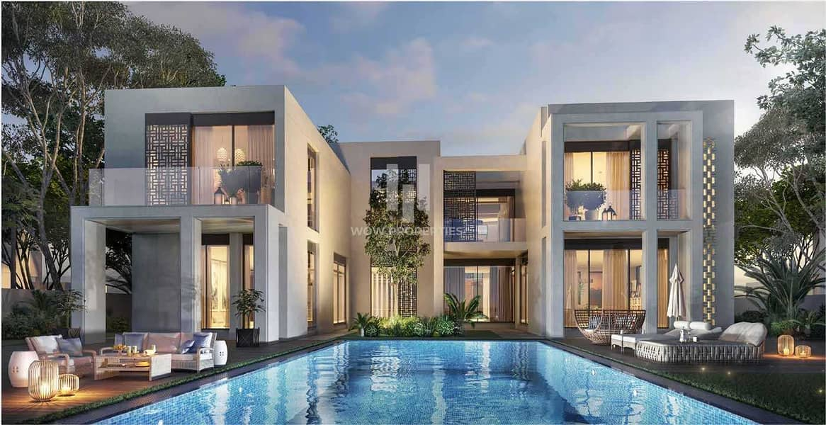 Richly Styled Designed 6- Bedroom Villas  Payment Plan