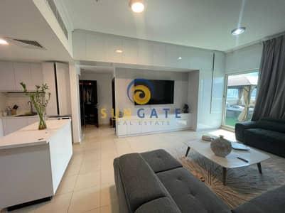 شقة 1 غرفة نوم للبيع في الخليج التجاري، دبي - fully upgraded furnished with private terrace