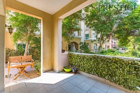 2 Bedroom Flat for Rent in Green Community, Dubai - Exclusive I Ground Floor I 2 Bedroom I Garden and Pool view
