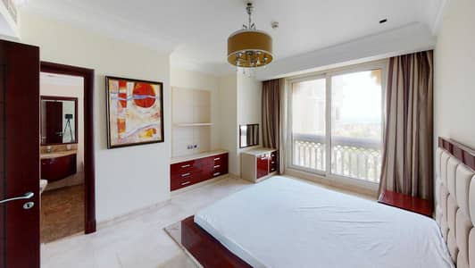 فلیٹ 2 غرفة نوم للايجار في نخلة جميرا، دبي - 20% off commission | Furnished | Partial sea views | Maid's room