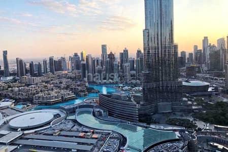 شقة 2 غرفة نوم للبيع في وسط مدينة دبي، دبي - Bills Included | Burj and Fountain Views