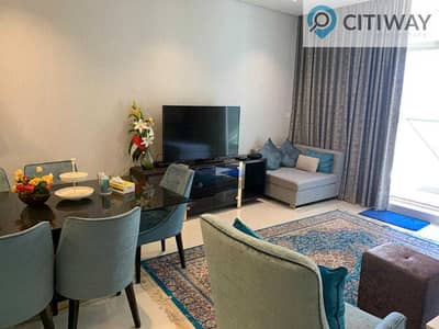 3 Bedroom Apartment for Rent in Business Bay, Dubai - Fully furnished 3 bedroom +maids +study room