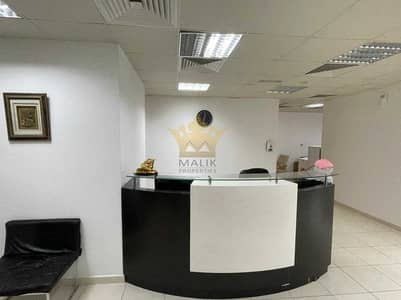مکتب  للايجار في برشا هايتس (تيكوم)، دبي - Fully Fitted Office With Partitioned 2 Car Park