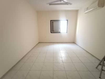 1 Bedroom Flat for Rent in Muwaileh, Sharjah - Best 1BHK Big Hall Size Just 18k close hall with Door  Central AC Family Building IN National paint Muwaileh