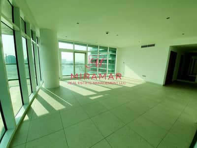 فلیٹ 3 غرف نوم للايجار في شاطئ الراحة، أبوظبي - Breath Taking Sea View/ High Floor/ Upcoming Soon