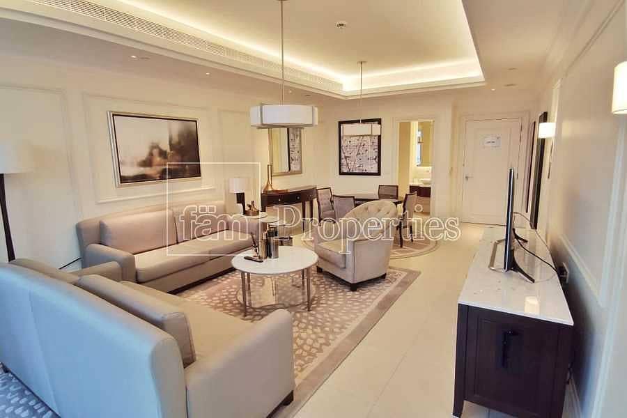 High floor| Naturally lit serviced apt| Good views