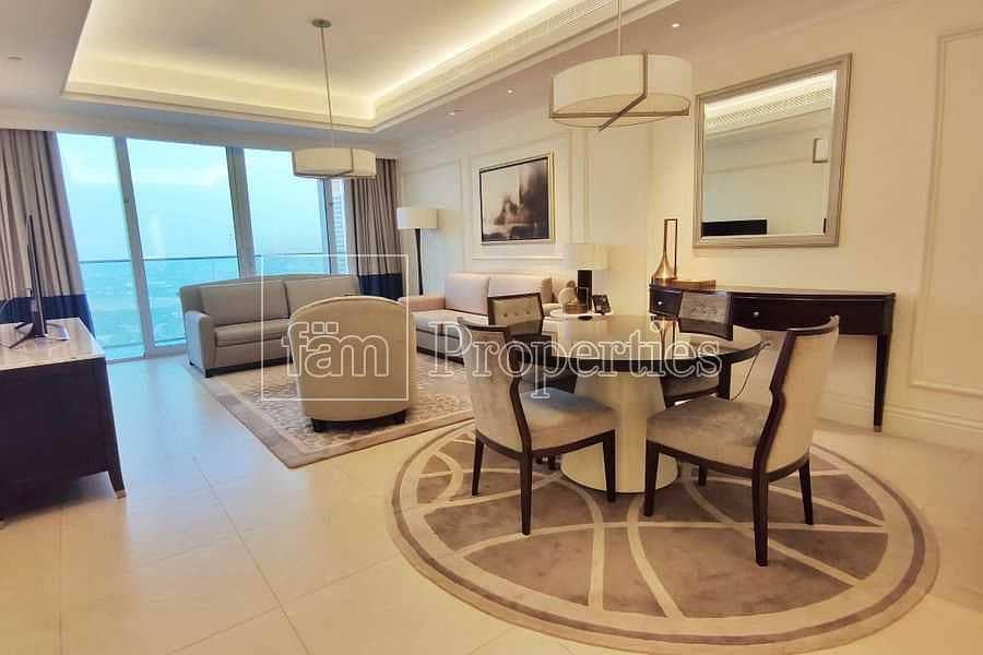 2 High floor| Naturally lit serviced apt| Good views