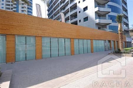 Shop for Rent in Dubai Marina, Dubai - Very nice Retail in Marina 1st Tower!