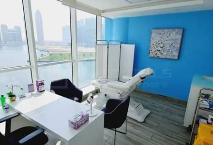 Office for Sale in Business Bay, Dubai - Canal Facing Fully Fitted Office with Partitions