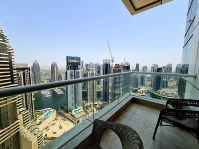 فلیٹ 1 غرفة نوم للايجار في دبي مارينا، دبي - Stunning one bedroom apt for rent Dubai marina.