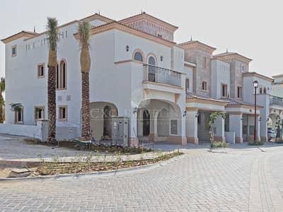 تاون هاوس 4 غرف نوم للبيع في عقارات جميرا للجولف، دبي - 4BR townhouse - corner plot with golf views