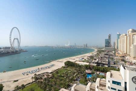 فلیٹ 1 غرفة نوم للايجار في جميرا بيتش ريزيدنس، دبي - Private Beach Access | Sea View | Modern Furniture