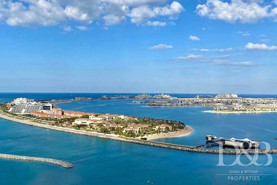 Rare Resale | Marina & Palm View | Post Payment