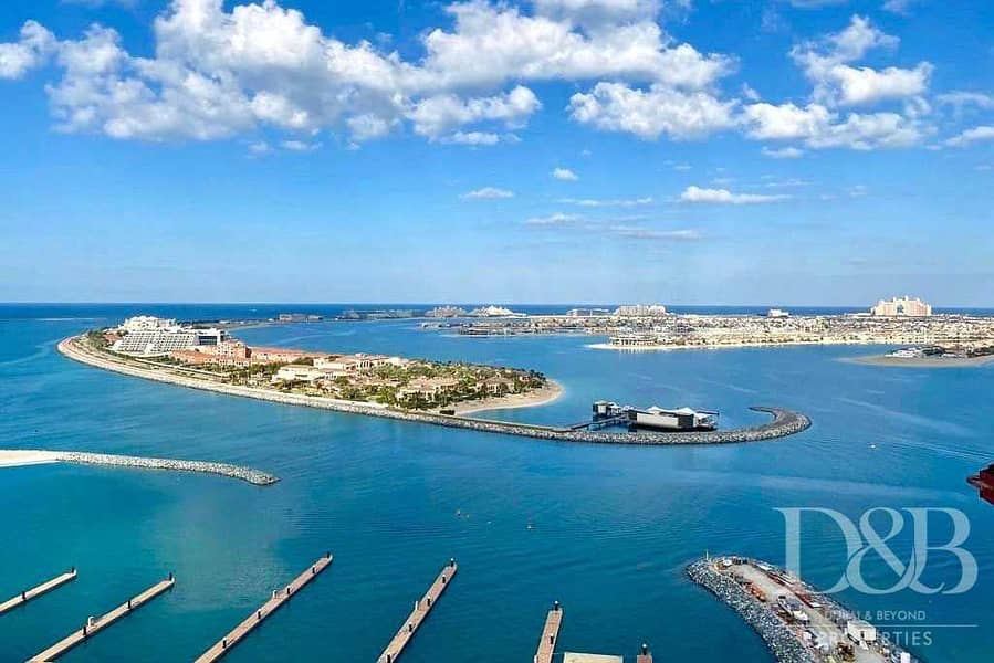 2 Rare Resale | Marina & Palm View | Post Payment