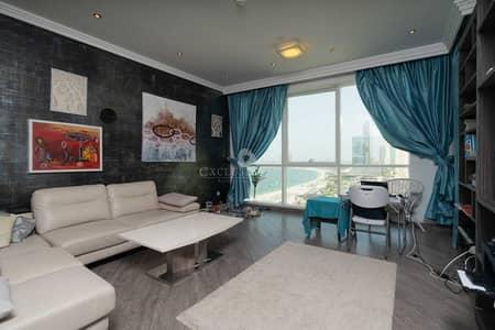 1 Bedroom Flat for Sale in Jumeirah Beach Residence (JBR), Dubai - Private Beach Access / Full Sea View / Modern