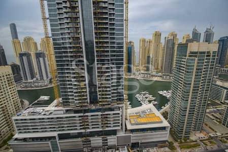 شقة 4 غرف نوم للايجار في دبي مارينا، دبي - Affordable Full Marina and partial Sea view I Higher floor