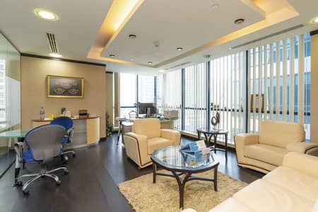 Office for Sale in Jumeirah Lake Towers (JLT), Dubai - Fully Fitted Fully Furnished Partitioned Office