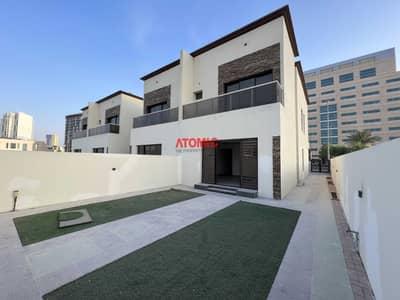 تاون هاوس 4 غرف نوم للبيع في قرية جميرا الدائرية، دبي - Amzing G+1 | 4bed+Maid | Garden | Brand New