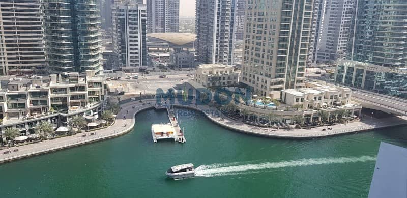 3BR + MR With Stunning Dubai Marina View