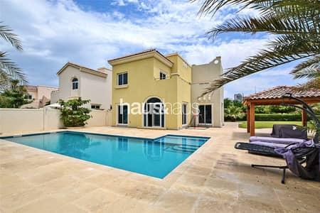 4 Bedroom Villa for Sale in Dubai Sports City, Dubai - Exclusive | Huge Corner Plot | Private Pool