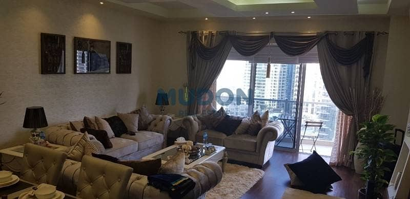 5 3BR + MR With Stunning Dubai Marina View