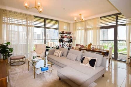 شقة 2 غرفة نوم للايجار في دبي هيلز استيت، دبي - Rare Corner Unit | Pool and Park View |