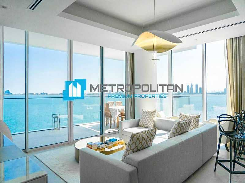 Has a View of Dubai Eye and Sea  view | Spacious