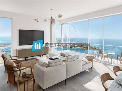 2 Bedroom Flat for Sale in Jumeirah Beach Residence (JBR), Dubai - High Floor | Amazing View| Elegant Unit| Brand New
