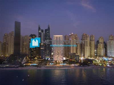 1 Bedroom Apartment for Sale in Jumeirah Beach Residence (JBR), Dubai - Marina View|Waterfront Living|Miami Style Design