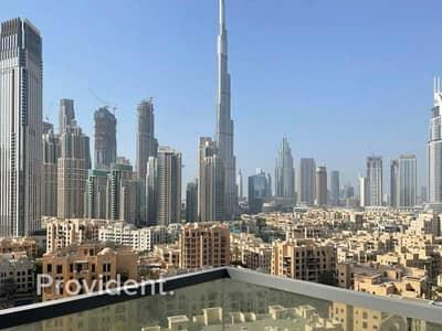 فلیٹ 1 غرفة نوم للايجار في وسط مدينة دبي، دبي - Magnificent Views | Bright & Spacious | Luxury 1BR