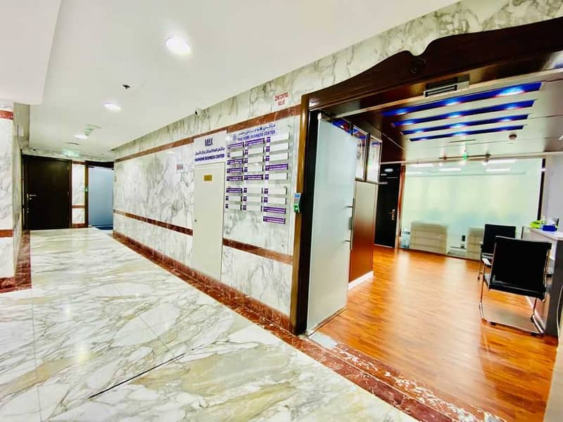 Fully Serviced Furnished Office Space Starting at AED 15999