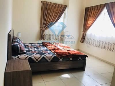 1 Bedroom Apartment for Rent in Al Sawan, Ajman - Newly Furnished One Bedroom Hall With  Close Kitchen on Monthly Rent