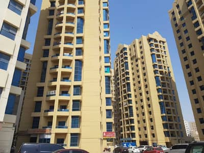 1 Bedroom Flat for Rent in Ajman Downtown, Ajman - 1 Bedroom Hall AED 15,000 per year in AL Khor Towers