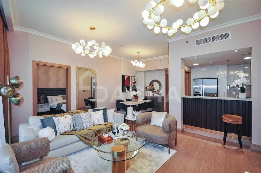 Luxury 2 Bedroom /Furnished / Garden View