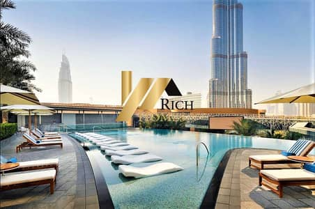 1 Bedroom with Breathtaking Burj Khalifa View. Furnishes and Serviced Apartment .
